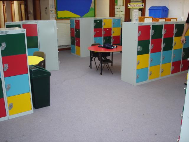 primary school lockers